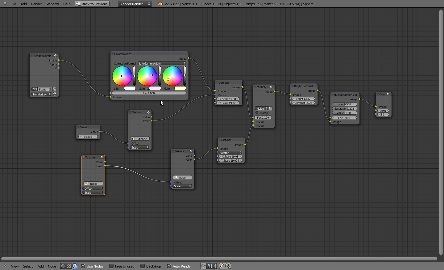 Rylan's art blog: A painterly look with Blender compositor