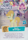 My Little Pony Aunt Orange Blind Bag Cards