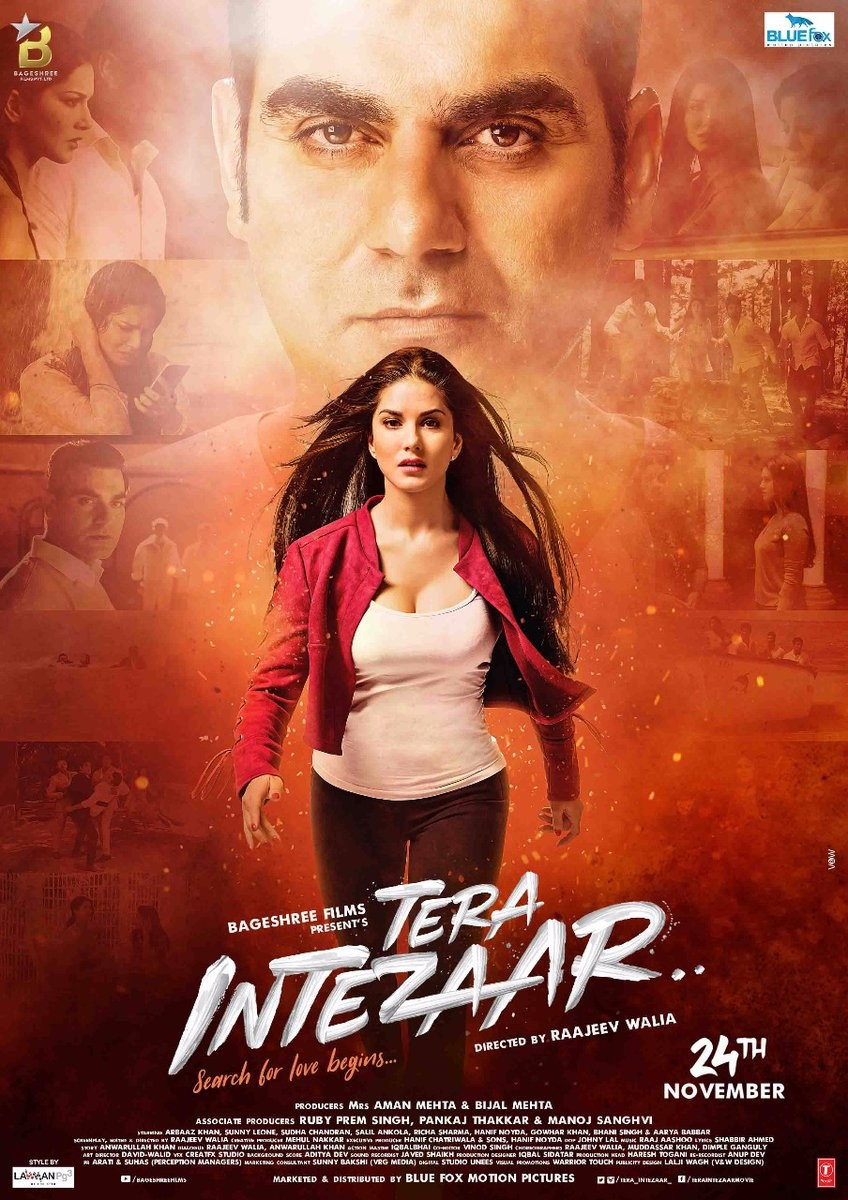 Arbaaz Khan and Sunny Leone's Tera Intezaar First Look Poster