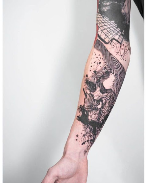 Creative Sleeve Tattoo For Men