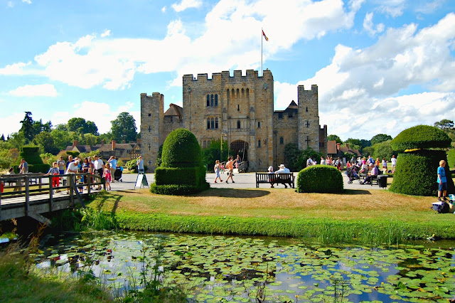 Hever Castle in Kent, the childhood home of Anne Boleyn