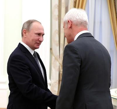 Vladimir Putin, Mathhias Mueller.