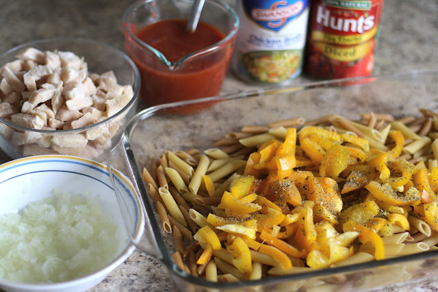 Chicken Cacciatore Bake: Butter with a Side of Bread