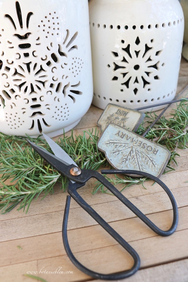French gardener gift guide includes gardening snips
