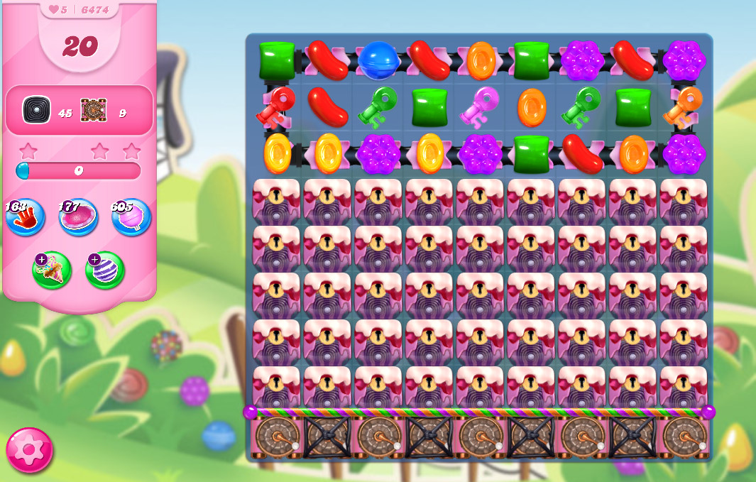 Candy Crush Saga level 6474