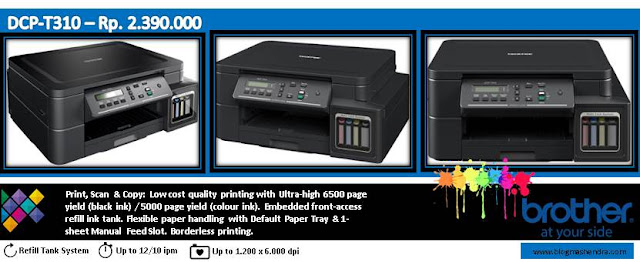 Printer Brother Tipe DCP-T310 - Blog Mas Hendra