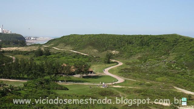 Ciclovia dentro do Parque da Guarita, Vista do alto do Morro da Guarita
