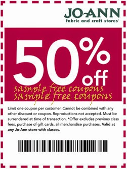 Joann Fabric Mobile Coupons Expired On July 31 2014