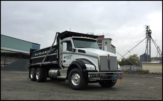 R. J. Valente Gravel, Inc. Kenworth T880 Dump Truck