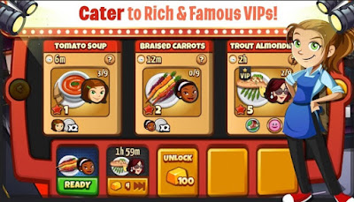 Screenshot Cooking Dash Mod Apk