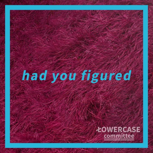 LOWERCASE committee Unveil New Single 'Had You Figured'
