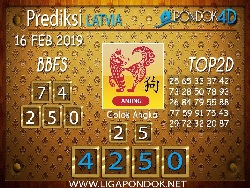 Prediksi Togel LATVIA PONDOK4D 16 FEBRUARI 2019