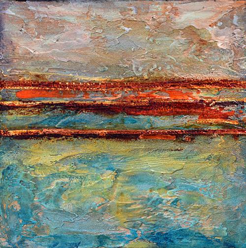 Venetian olaster, texture, resin