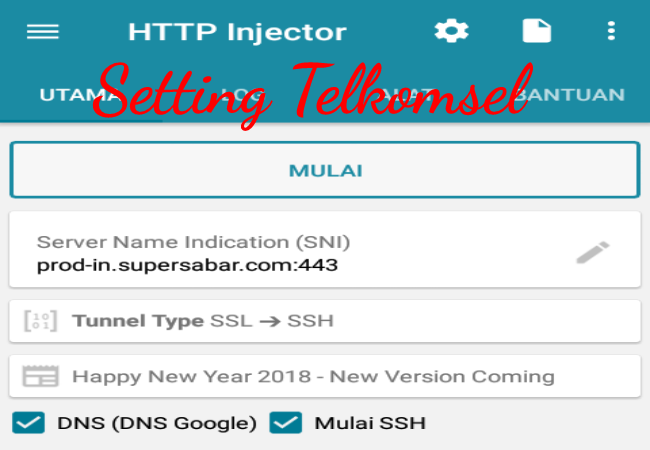 Cara Setting/Membuat Config Videomax,Youthmax HTTP Injector Support SSL Terbaru