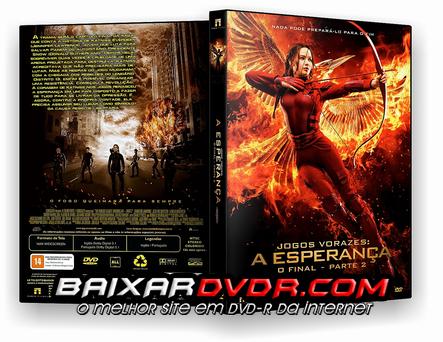 Jogos Vorazes A Esperança O Final Parte 2 (2015) DVD-R Oficial