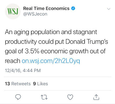 wsj fake news gdp