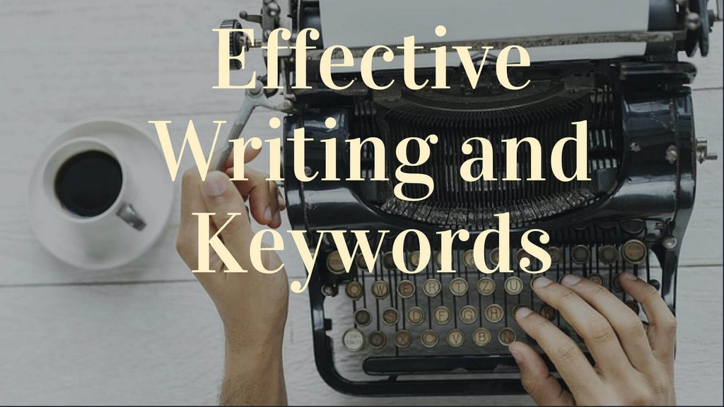 naturally write content from keywords
