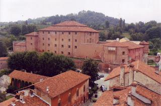 The Castiglia, historic residence of the Marchesi di Saluzzo