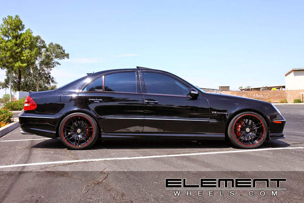 mercedes benz w211 e55 amg on r19 forgestar wheels benztuning. Black Bedroom Furniture Sets. Home Design Ideas