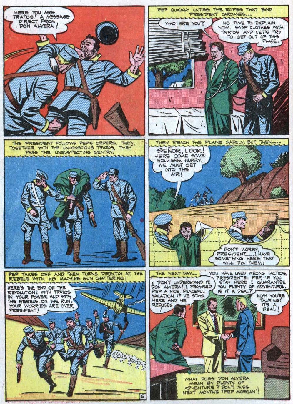Read online Action Comics (1938) comic -  Issue #40 - 22