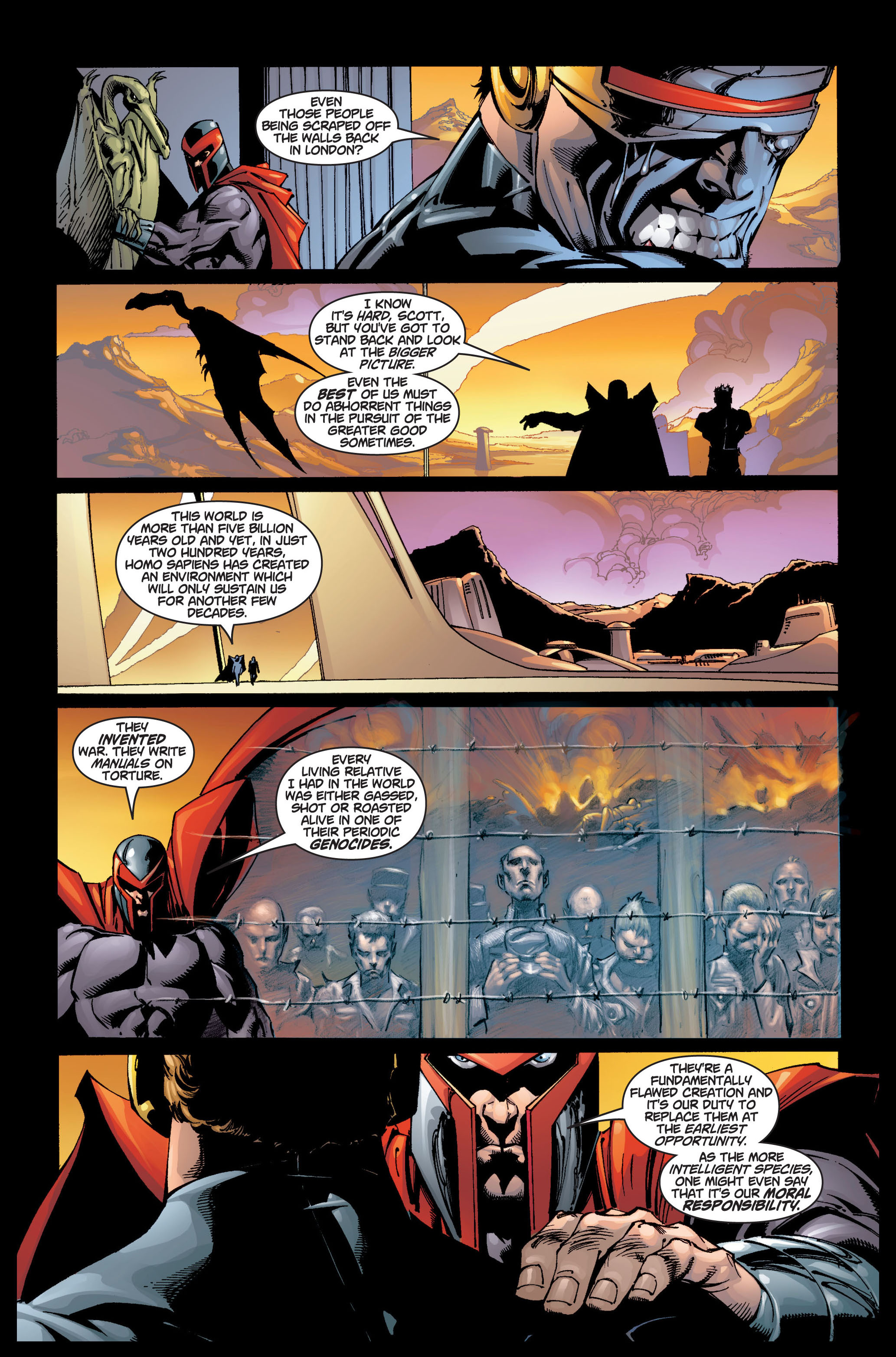 Read online Ultimate X-Men comic -  Issue #5 - 12