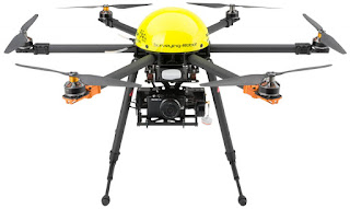 Service Drone Multirotor G4 Surveying Robot
