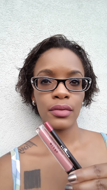 Stila Stay All Day Liquid Lipstick 'Patina' swatch www.modenmakeup.com