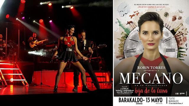Cartel del concierto sobre Mecano