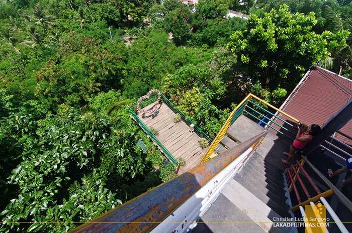 Mount Luho View Deck Boracay Stairs