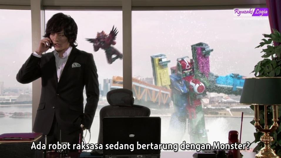 [Special] Kamen Rider Gaim vs Ressha Sentai ToQger Subtitle Indonesia