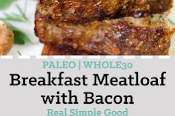 Keto Breakfast Meatloaf (Paleo, Whole30)