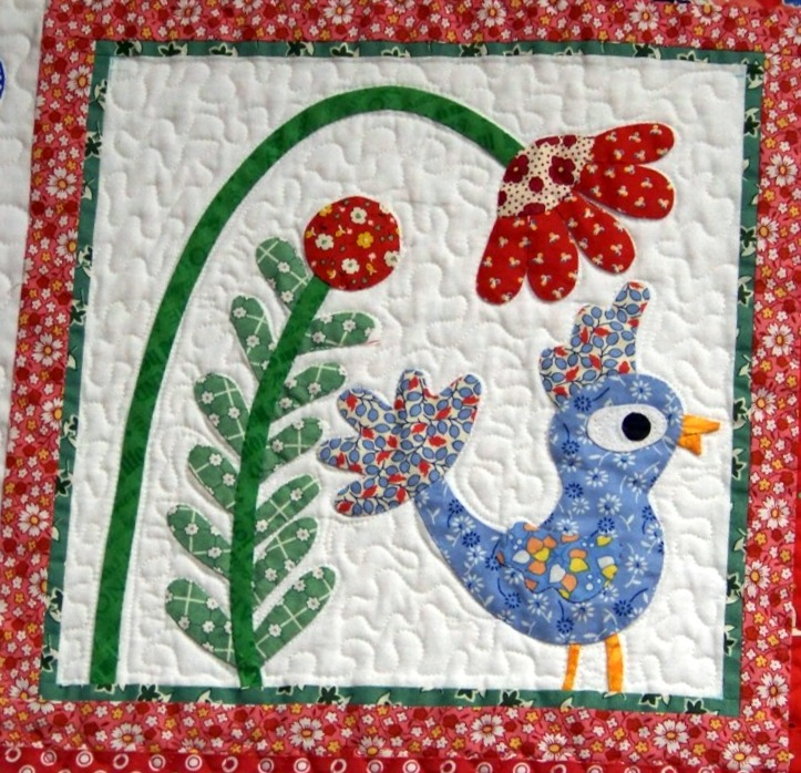 Attic Window Quilt Shop Whimsical Garden Bom Meets At
