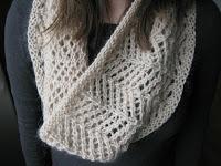 lace cowl knitting pattern