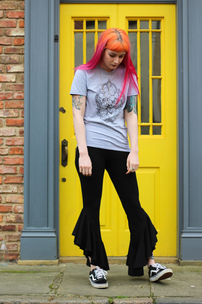 Alternative Style Blogger Foxxtailz in Stag and Raven