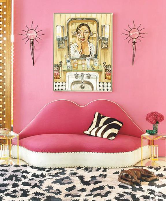 Diane von Furstenberg's New York Apartment Interiors B