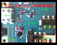 Samsung e2222 charging solution auto charging solution Remove This Component    Download This Image  Solve your samsung mobile phone charging problem just easily follow this image instruction solve your problem