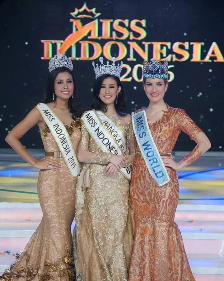 Foto Juara Miss Indonesia 2016
