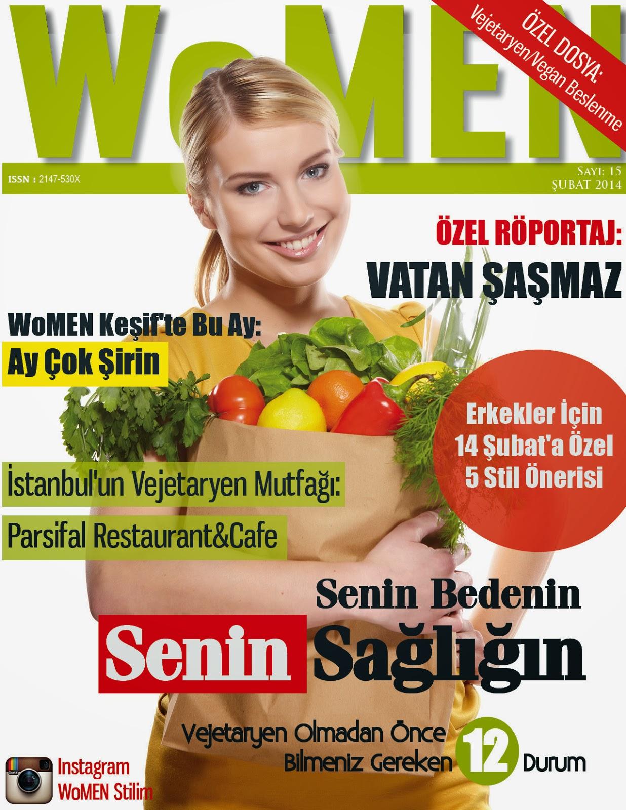 WoMEN Dergisi Şubat Sayısı 2014