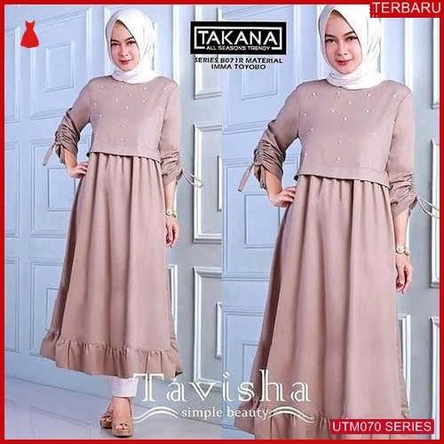 UTM070T89 Baju Tavisha Muslim Tunik UTM070T89 046 | Terbaru BMGShop