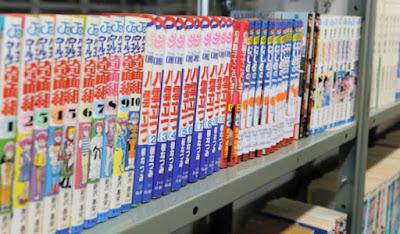 Doação de 2 mil mangás à biblioteca da USP