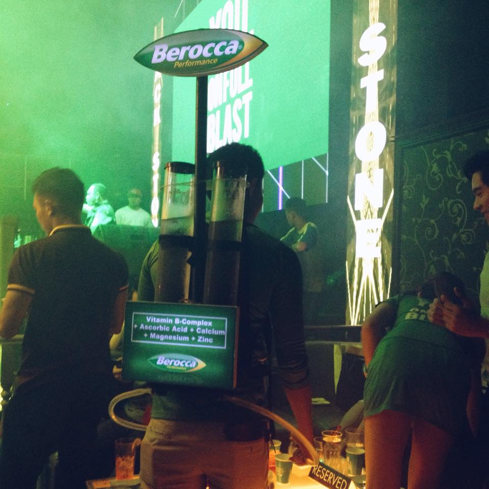 On Full Blast at Berocca's Blast Of Threes Party