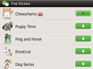 download wechat blackberry