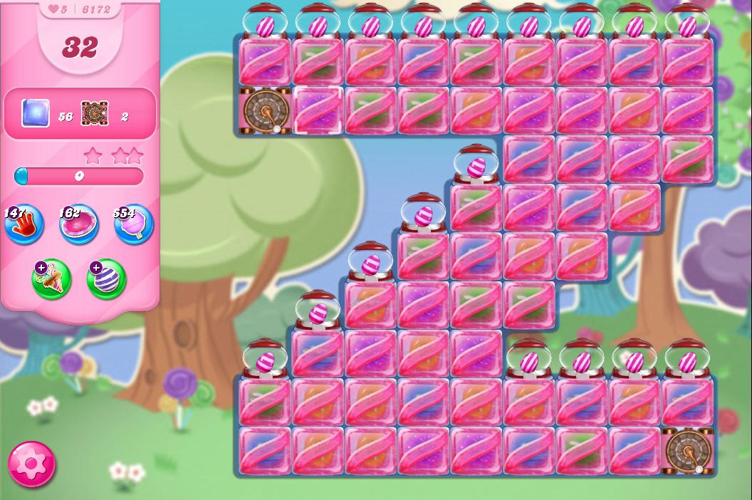 Candy Crush Saga level 6172