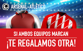 sportium Promo Europa League Arsenal vs Atletico 26 abril