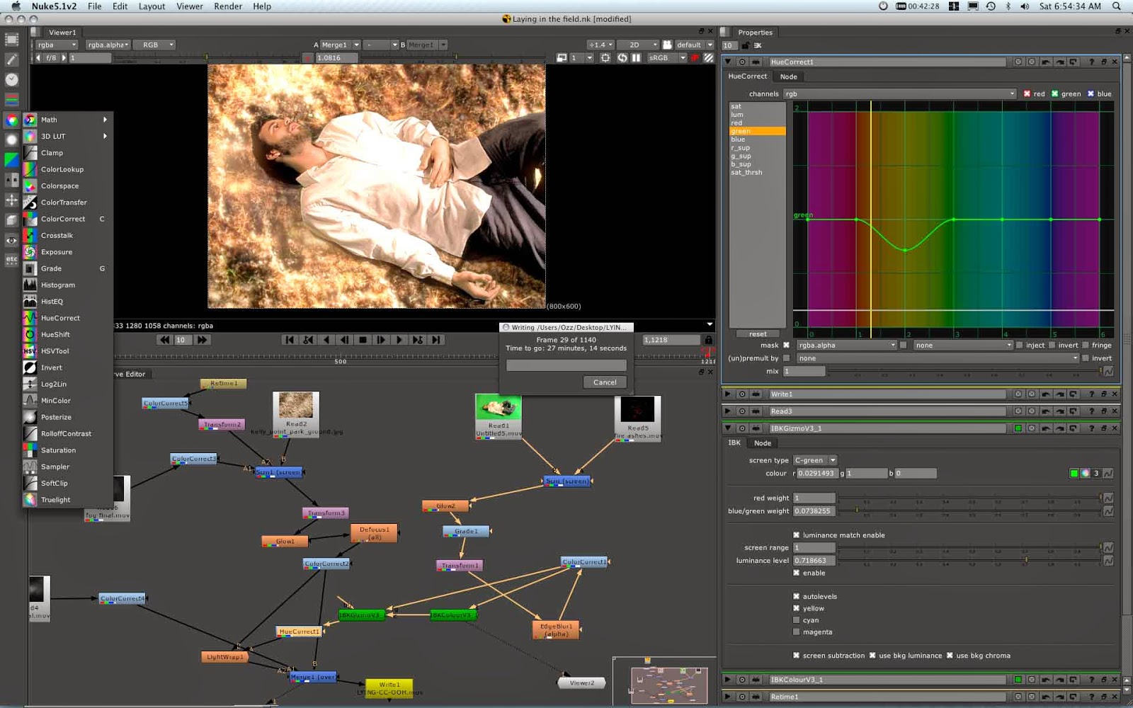 Layer based and Node based compositing software | R Adithya