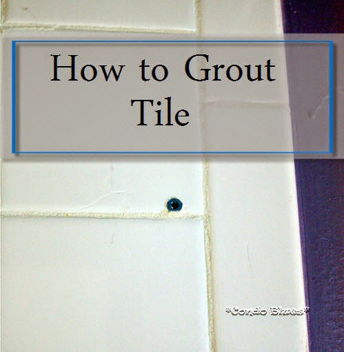 how to regrout bathroom tiles condo blues how to remove grout and regrout tile 23460 | howtogrouttile