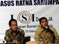 LSI Denny JA: Gara-Gara Kasus Hoaks Ratna Sarupaet Survey Prabowo-Sandi Anjlok