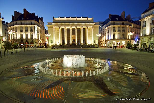 Place Graslin - Nantes, por El Guisante Verde Project