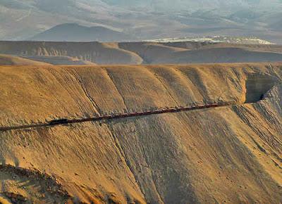 potrerillos railway, chile