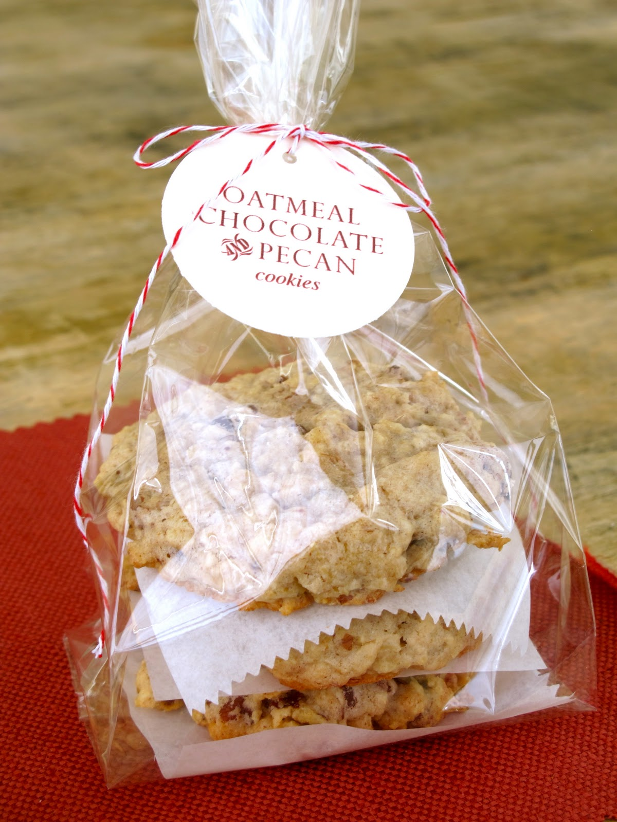 Sachets Transparents Pour Biscuits Jenny Steffens Hobick Pecan Chocolate And Oatmeal Cookies